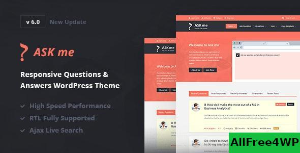 Download Ask Me v6.3 - Responsive Questions & Answers WordPress