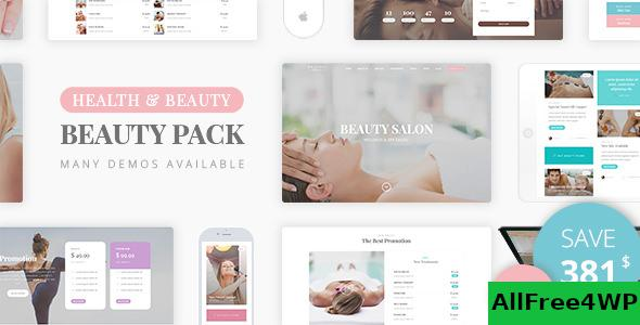 Download Beauty Pack v1.6 - Wellness Spa & Beauty Massage Salons WP
