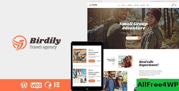 Download Birdily v1.0.3 - Travel Agency & Tour Booking WordPress Theme