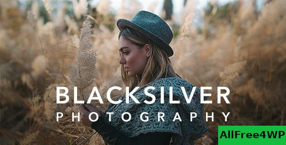Download Blacksilver v2.8 - Photography Theme for WordPress