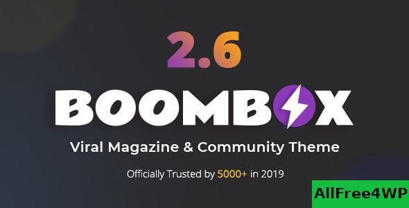 Download BoomBox v2.6.1 - Viral Magazine WordPress Theme