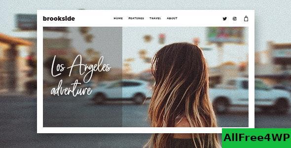 Download Brookside v1.2.3 - Personal WordPress Blog Theme