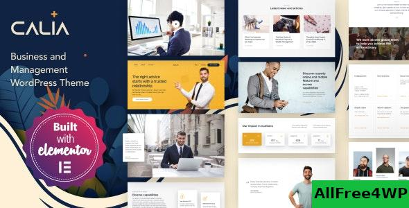 Download Calia v1.2.42 - Business and Management WordPress Theme