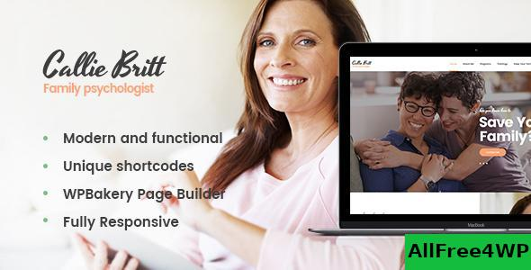 Download Callie Britt v1.0.3 - Family Counselling Psychology Theme
