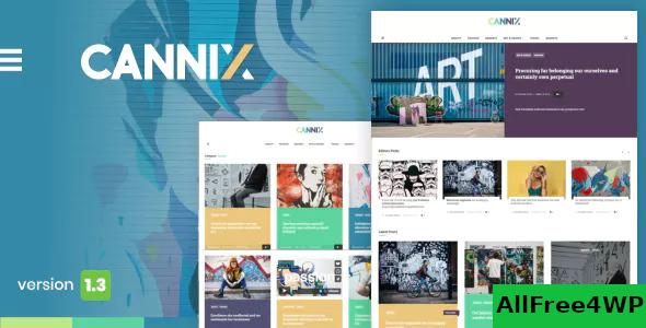 Download Cannix v1.3.3 - A Vibrant WordPress Theme