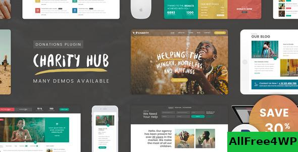 Download Charity Foundation v1.8 - Charity Hub WP Theme