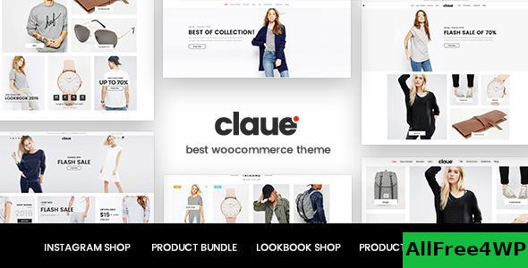 Download Claue v2.0.2 - Clean, Minimal WooCommerce Theme