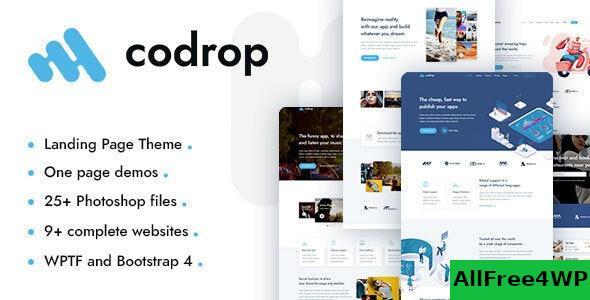 Download Codrop v1.0 - App Landing Page Theme