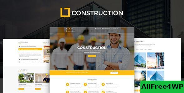 Download Construction v1.0.9.3 - Business & Building Company Theme
