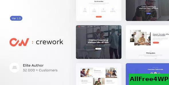 Download Crework v1.1.5 - Coworking and Creative Space Theme