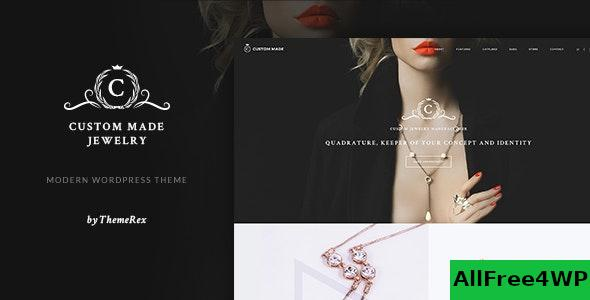 Download Custom Made v1.1.7 - Jewelry Manufacturer and Store WordPress Theme