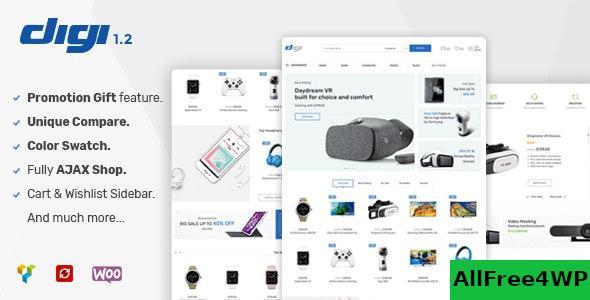 Download Digi v1.5.2 - Electronics Store WooCommerce Theme