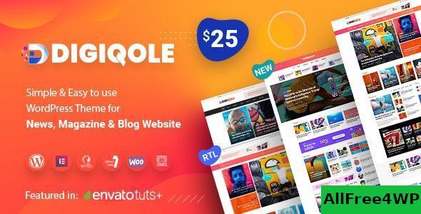Download Digiqole v1.2.3 - News Magazine WordPress Theme