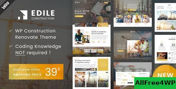 Download Edile v1.3 - Construction WP