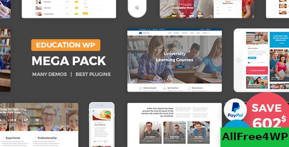 Download Education Pack v2.0 - Education Learning Theme WP