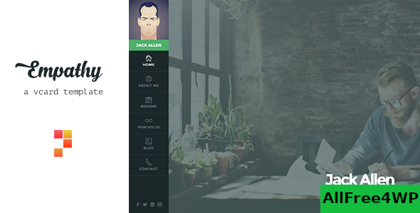 Download Empathy v1.4.2 - A vCard WordPress Theme