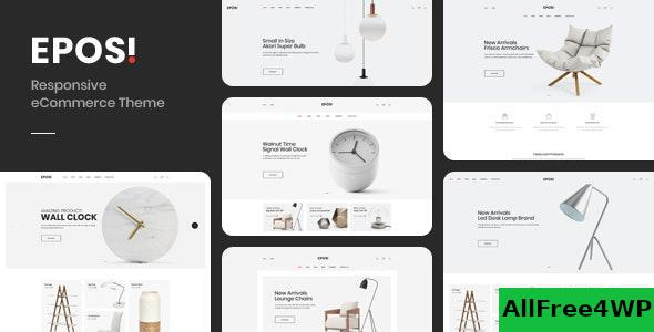 Eposi v1.0 - Minimal Theme for WooCommerce WordPress