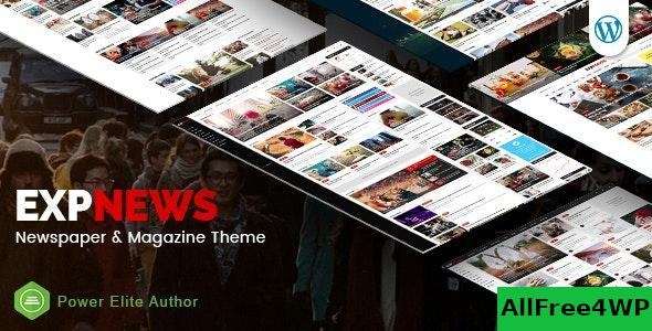 Download ExpNews v1.0.5 - Newspaper and Magazine WordPress Theme