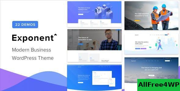 Download Exponent v1.2.8.3 - Modern Multi-Purpose Business Theme