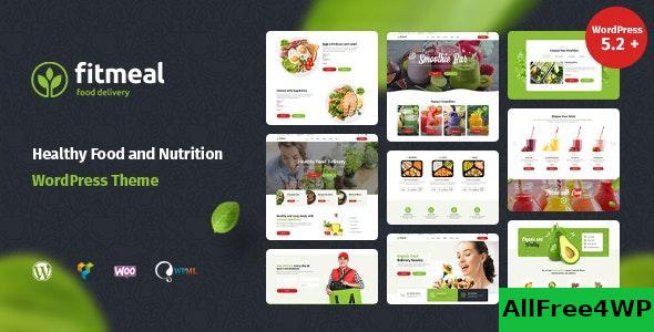 Fitmeal v1.2.4 - Organic Food Delivery and Healthy Nutrition WordPress Theme