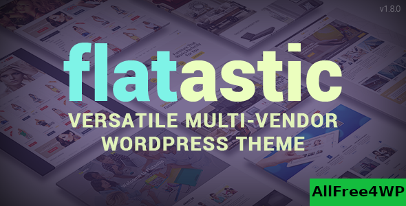 Download Flatastic v1.8.3 - Themeforest Versatile WordPress Theme
