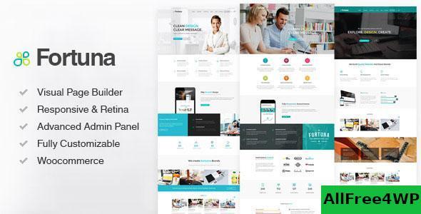 Download Fortuna v3.0 - Responsive Multi-Purpose WordPress Theme