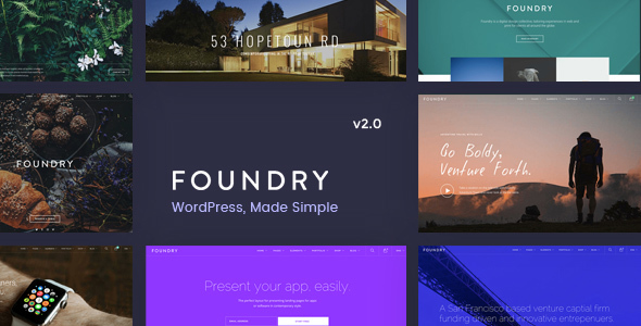 Download Foundry v2.1.8 - Multipurpose, Multi-Concept WP Theme