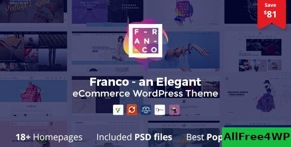 Download Franco v1.3.5 - Elegant WooCommerce WordPress Theme