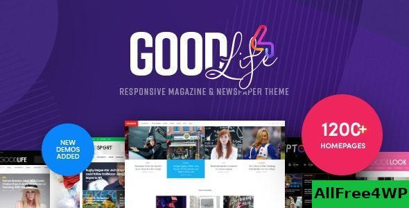 Download GoodLife v4.1.7.2 - Responsive Magazine Theme