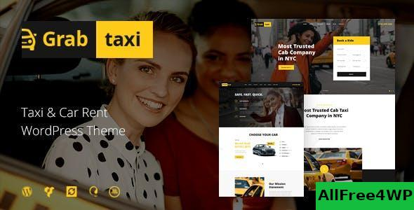 Download Grab Taxi v1.2.5 - Online Taxi Service WordPress Theme
