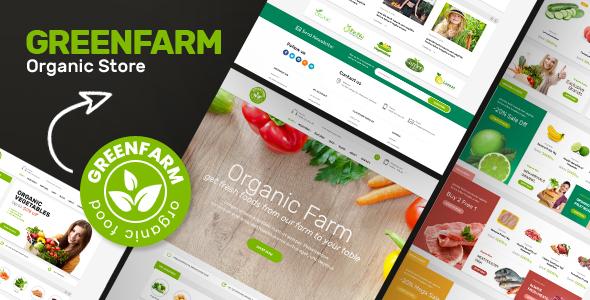 Download Greenfarm v1.1.0 - Organic Theme for WooCommerce