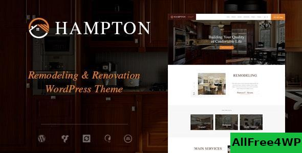 Download Hampton v1.1.6 - Home Design and House Renovation WordPress Theme