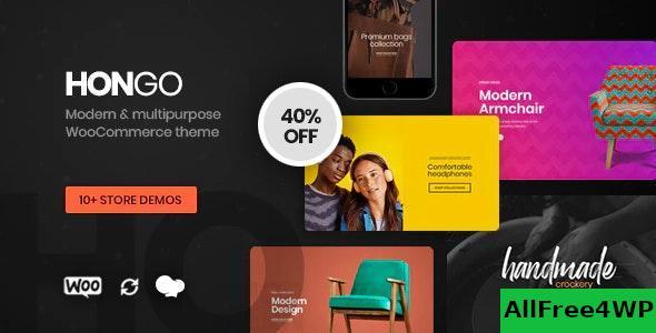 Download Hongo v1.1.1 - Modern & Multipurpose WooCommerce WordPress Theme