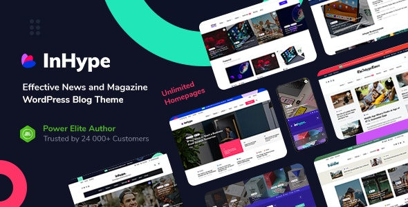 Download InHype v1.0.2 - Blog & Magazine WordPress Theme