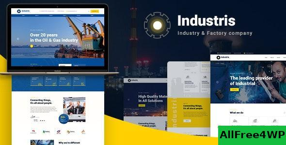 Download Industris v1.0.4 - Factory & Business WordPress Theme