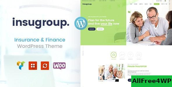 Download Insugroup v1.0.8 - A Clean Insurance & Finance WordPress Theme
