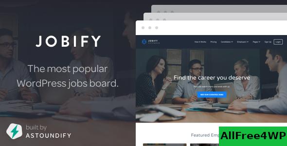 Download Jobify v3.14.0 - WordPress Job Board Theme