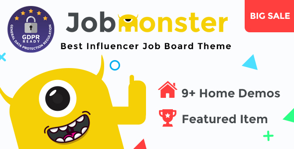 Jobmonster v4.6.0.6 - Job Board WordPress Theme