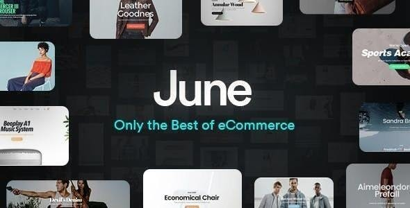Download June v1.8.1 - WooCommerce Theme