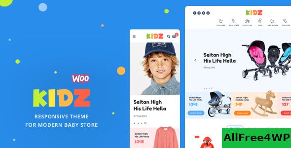Download KIDZ v2.8 - Baby Store WooCommerce Theme