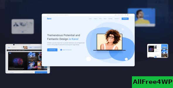 Download Kava Pro v2.0.2 - WordPress Theme For Elementor
