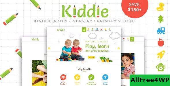 Download Kiddie v4.1.8 - Kindergarten and Preschool WordPress Theme