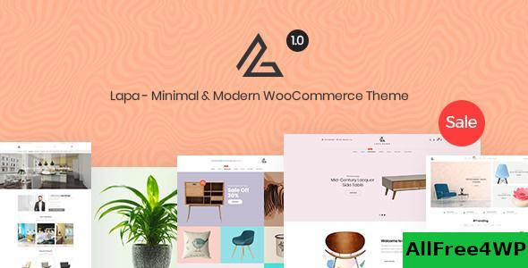 Download Lapa v1.1.2 - Minimal & Modern WooCommerce Theme