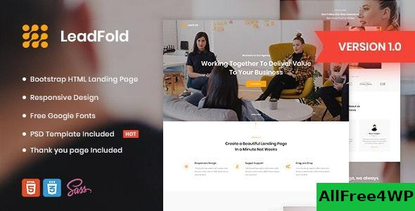 LeadFold v1.0 - Lead Generation HTML Landing Page Template
