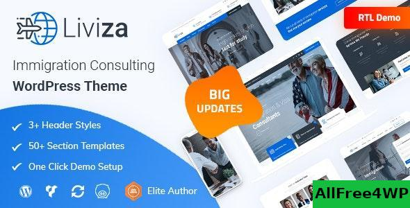 Download Liviza v2.0 - Immigration Consulting WordPress Theme
