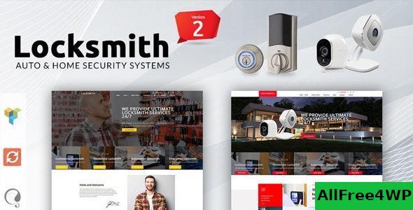 Download Locksmith v3.5 - Security Systems WordPress Theme