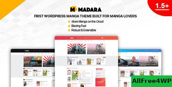 Download Madara v1.6.3 - WordPress Theme for Manga