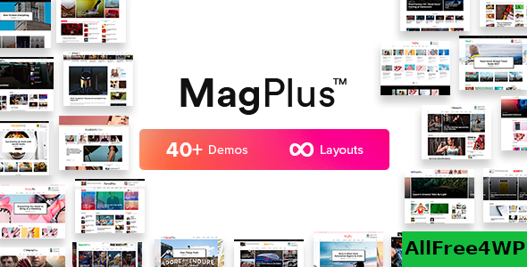 Download MagPlus v6.0 - Blog & Magazine WordPress Theme