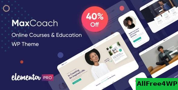 Download MaxCoach v1.2.3 - Online Courses & Education WP Theme