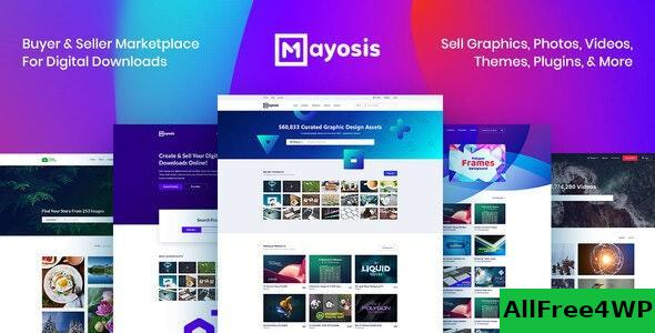 Download Mayosis v2.7.3 - Digital Marketplace WordPress Theme